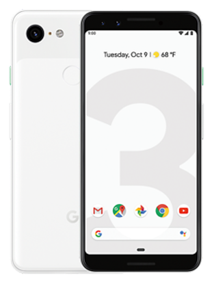 Picture of Google Pixel 3 64GB Clearly White