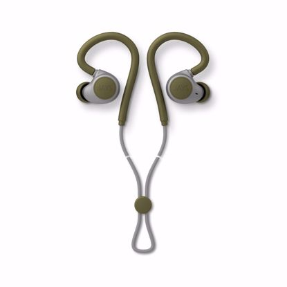 Picture of JAYS JAYS m-Six Wireless Sport In-Ear Earphones with Mic in Moss Green