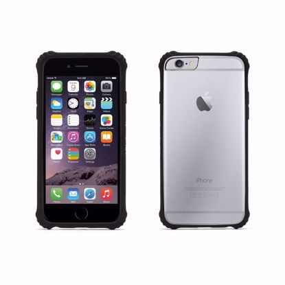 Picture of Griffin Griffin Survivor Clear Case for Apple iPhone 6/6s in Black