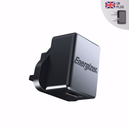 Picture of Energizer Energizer UK 1A Mains Charger in Black