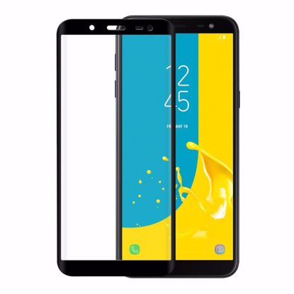 Picture of Eiger Eiger 3D GLASS Tempered Glass Screen Protector for Samsung Galaxy J6 (2018) in Clear