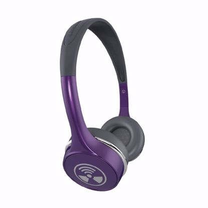 Picture of iFrogz iFrogz Toxix Plus On-Ear Headphones with Mic in Purple