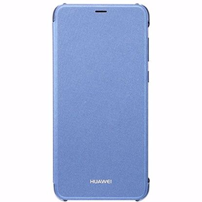 Picture of Huawei Huawei Flip Cover Case for Huawei P Smart in Blue