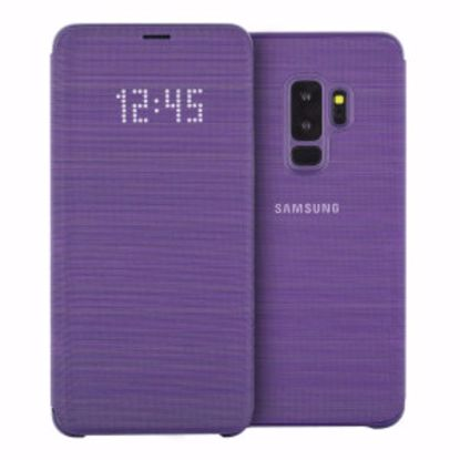 Picture of Samsung Samsung LED View Case for Samsung Galaxy S9+ in Purple