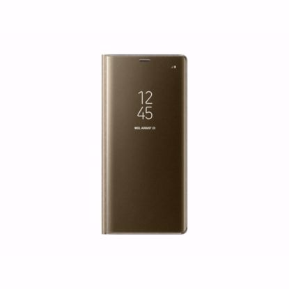 Picture of Samsung Samsung Clear View Case for Samsung Galaxy Note 8 in Gold