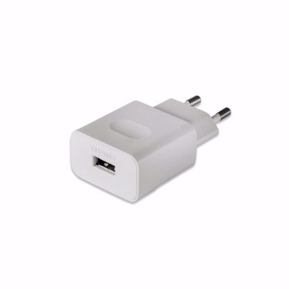 Picture of Huawei Huawei AP32 EU 2 Pin 2A Mains Charger with Micro USB Cable in White