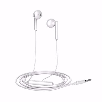 Picture of Huawei Huawei AM115 In-Ear Earphones with Mic and Remote in White