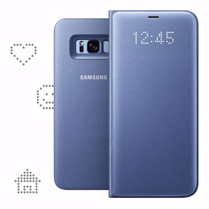 Picture of Samsung Samsung LED View Case for Samsung Galaxy S8+ in Violet