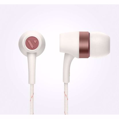 Picture of Vain VAIN STHLM Originals In-Ear Earphones with Mic and Remote in Broken White