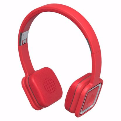 Picture of Ministry of Sound Ministry of Sound Audio Plus On-Ear Wireless Headphones in Red