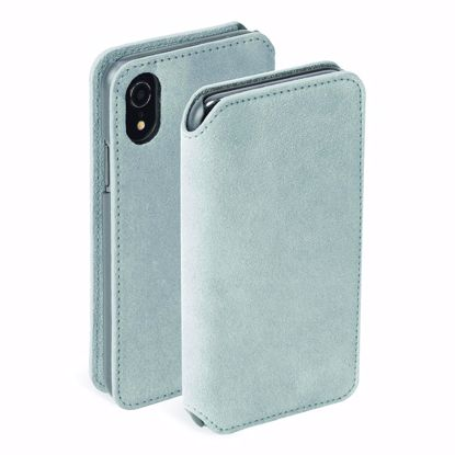 Picture of Krusell Krusell Broby 4 Card Slim Wallet for iPhone XR Light in Grey