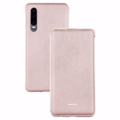Picture of Huawei Huawei Wallet Folio Cover Case for Huawei P30 in Pink