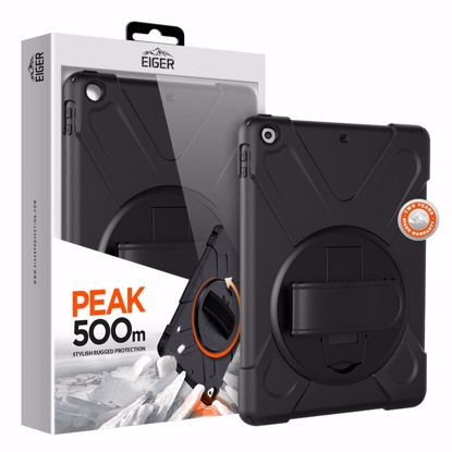 Picture of Eiger Eiger Peak 500m Case for Apple iPad 9.7 (2017) & (2018) in Black