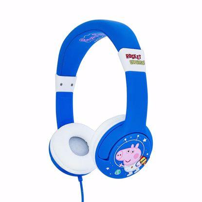 Picture of OTL OTL Peppa Pig Rocket George Junior Headphones in Blue/White